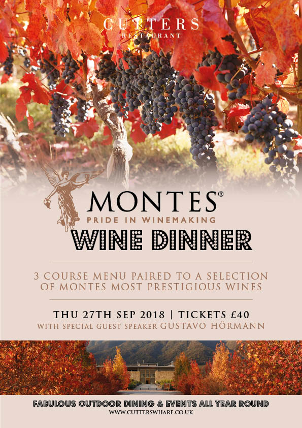 Cutters Montes Wine Evening A4 27 Sept 2018