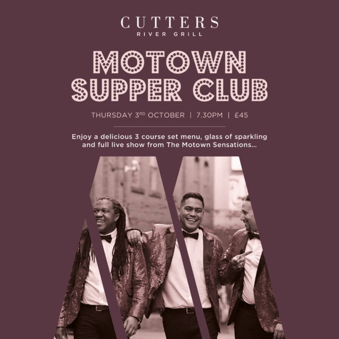 0108117790 Cutters River Grill Motown Supper Club 3 Oct 2019 Social